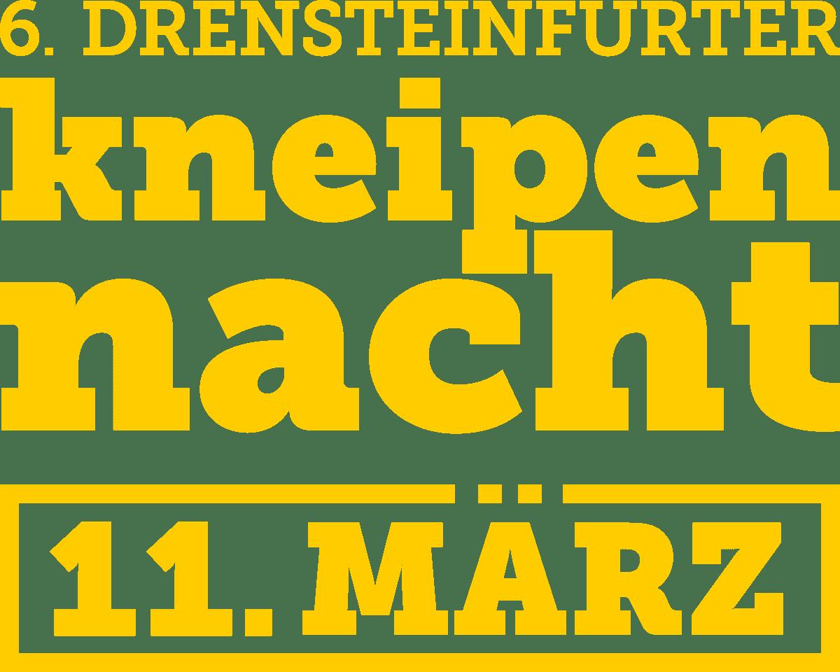 Logo Drensteinfurter Kneipennacht